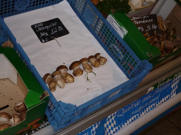 Белые грибы из ЮАР