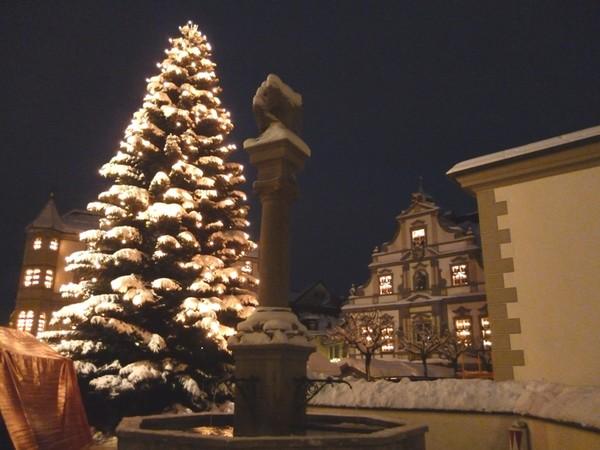 Ратуша зимой
