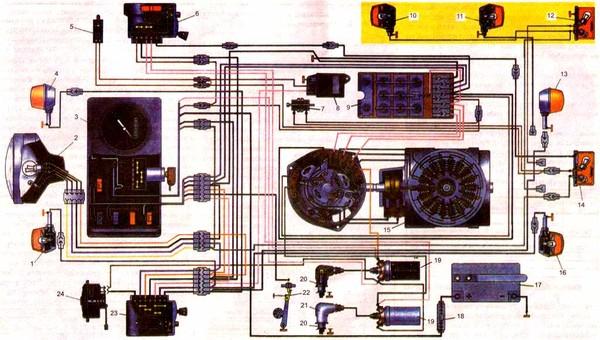 Иж юпитер 3 генератор схема.