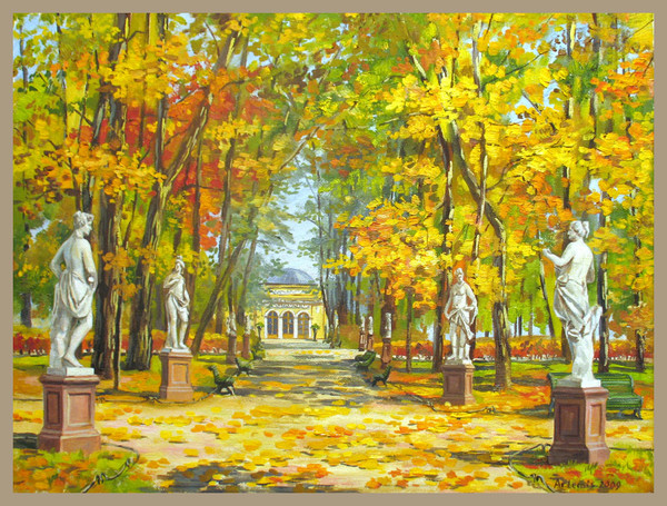Закрытый в 2009 году на плановую реконструкцию Летний сад в Санкт-Петербурге снова откроется в мае 2012 года...