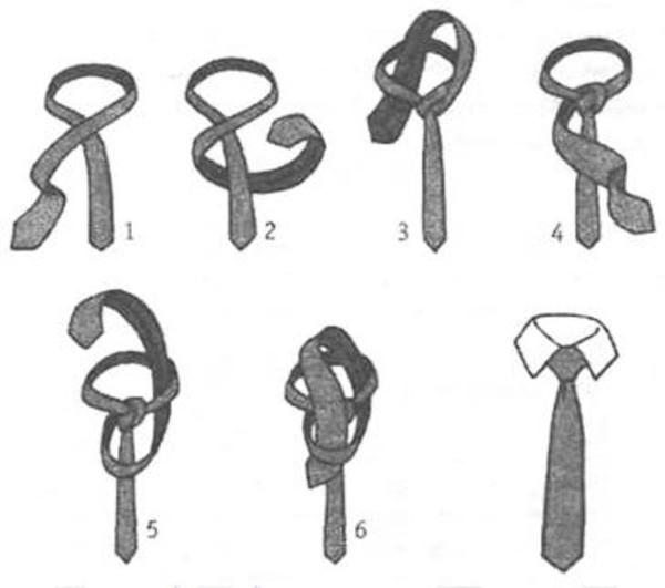 Девочкам даже модно теперь носить их.  Вот простенький способ для завязывания галстука.