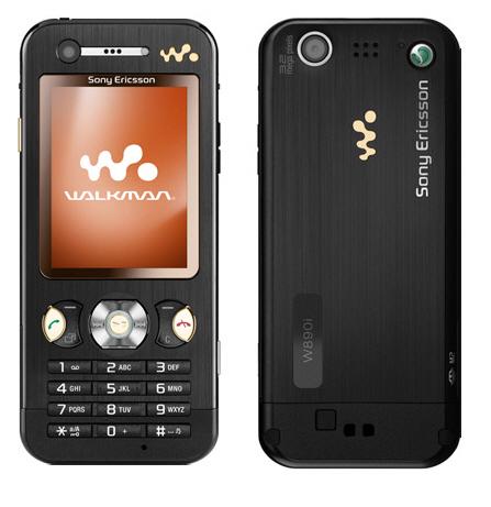 Телефон Sony Ericsson W890.