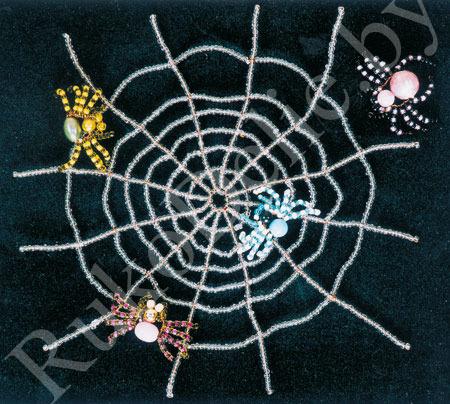 Как сделать паука из термоклея