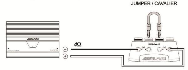 подключению сабвуфера 2х2