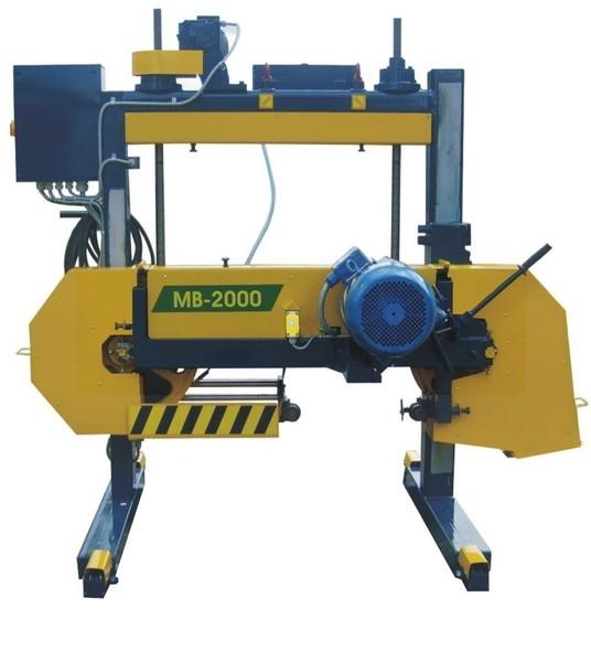 Род тока питающей сети.  Основные технические данные и характеристики пилорамы ленточной МВ-2000.