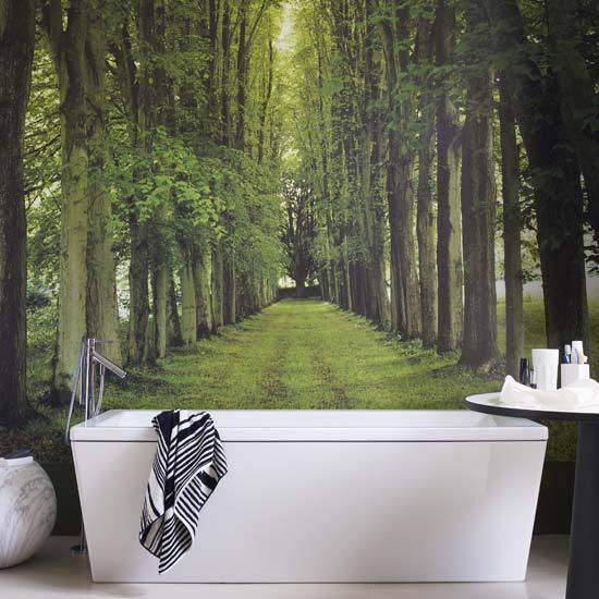 Фотообои в ванной фото
