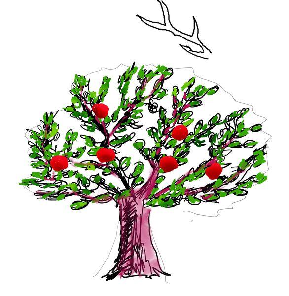 Рисуем дерево занятие