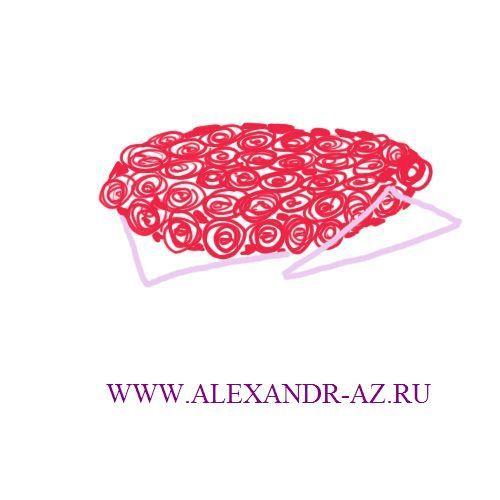 Как нарисовать букет роз поэтапно