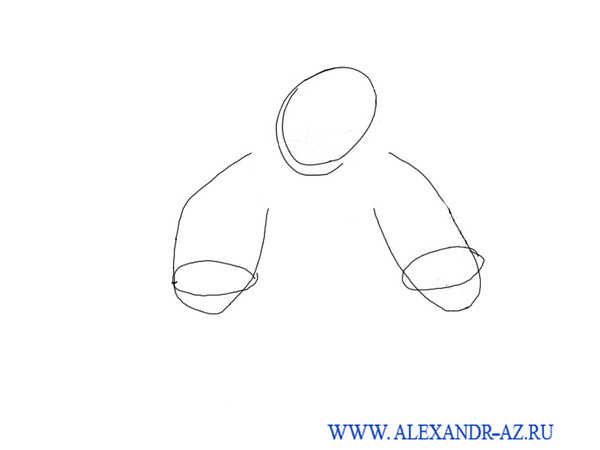 34 уроки рисования александр аз будем ка рисовать дед мороз и