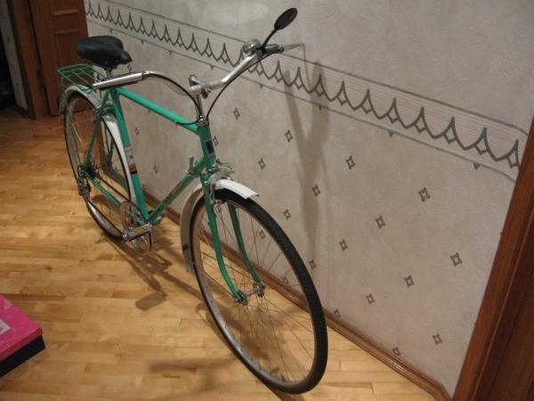 Реставрация велосипеда ХВЗ Турист