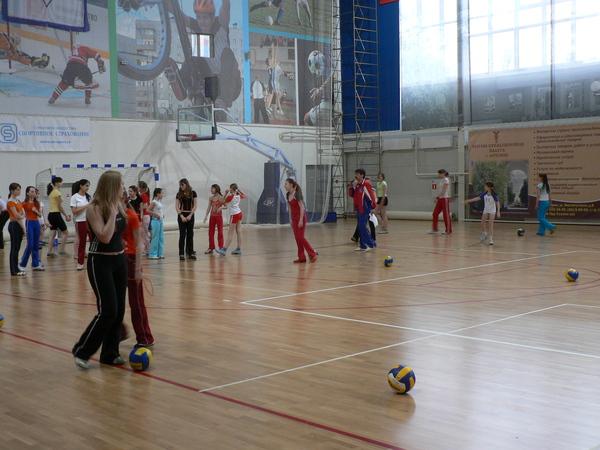 Праздник труда во Дворце спорта