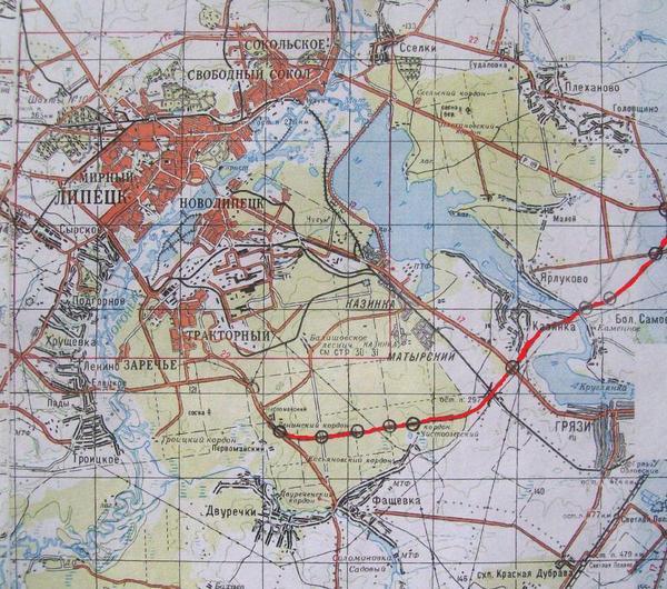 Планом стратегического развития Липецкой области (схема территориального планирования) предусматривается...