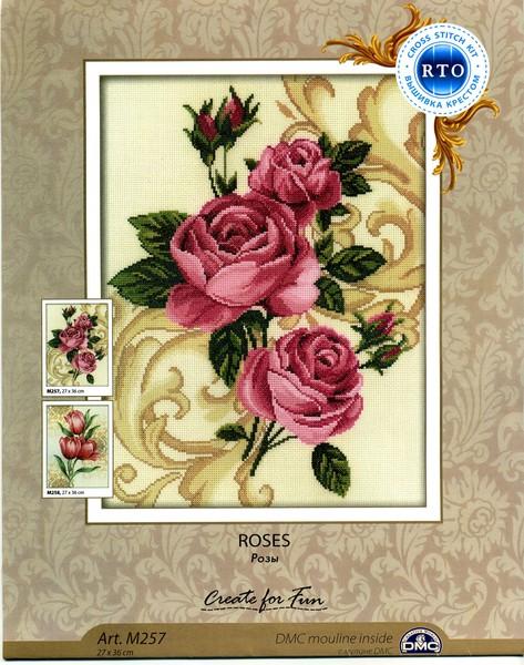Розы от RTO. схемы для вышивки