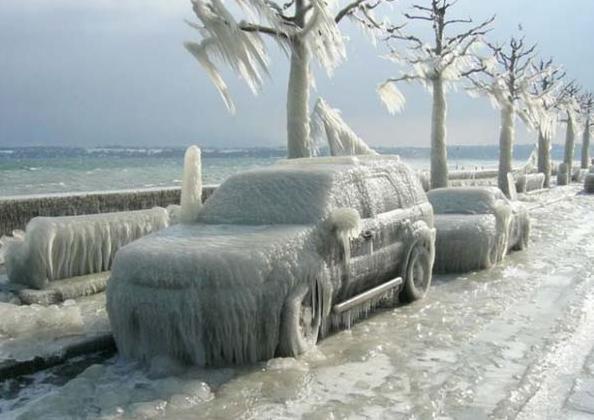 Фото Жуткая зима  ;-()