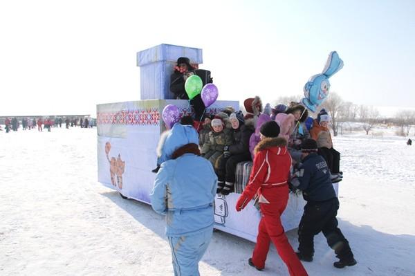 """Праздник """"Сибирская масленица"""" в Алтайском крае"""