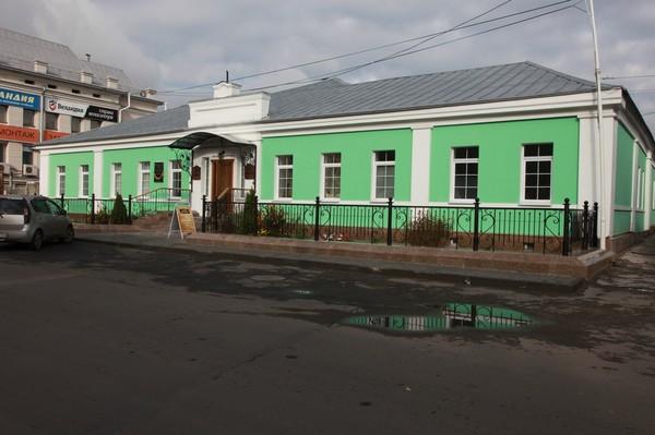 Здание Горной аптеки в Барнауле