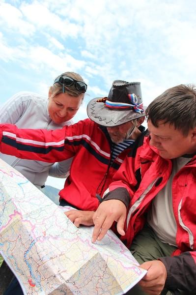 Карта укажет верный путь в Горный Алтай