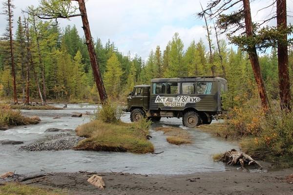 Мы продолжили восхождение на ГАЗ-66