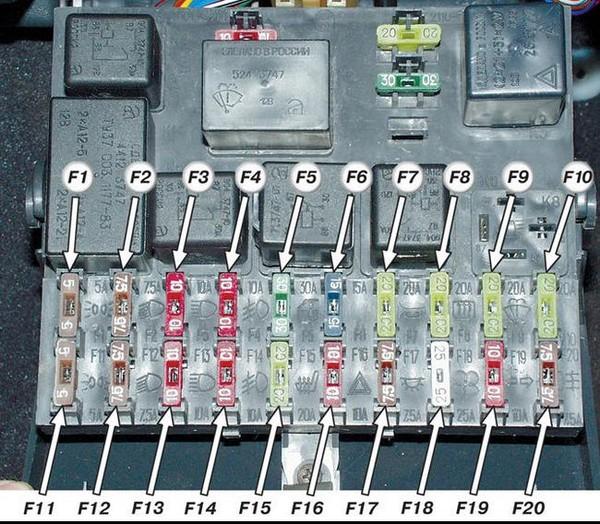 Схема электрическая блока электронного управления ваз 21099.