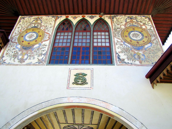 Ворота в Ханский дворец в Бахчисарае