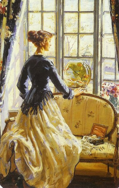 Wilfred de Glehn's The Goldfish Bowl