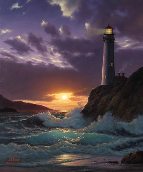 Цитаты про маяк и море