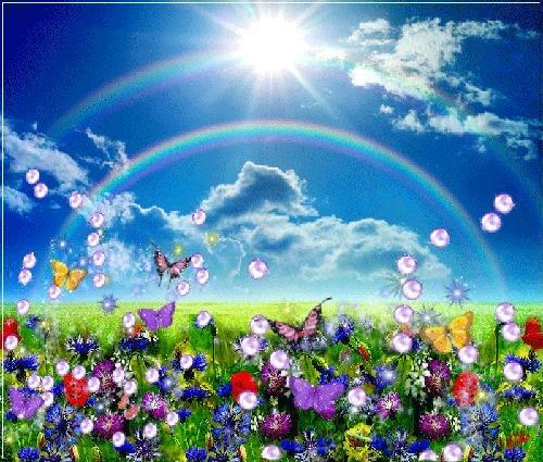 Там, где Небо целуется с Землей. Притча
