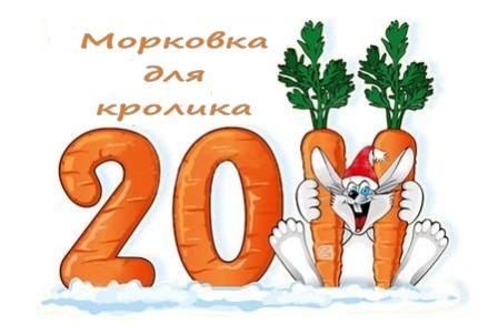 Морковка для кролика