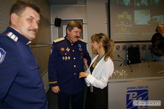 Верховный атаман СКВРЗ Виктор Водолацкий берет на службу леваков и коммуно-нацистов. I-102