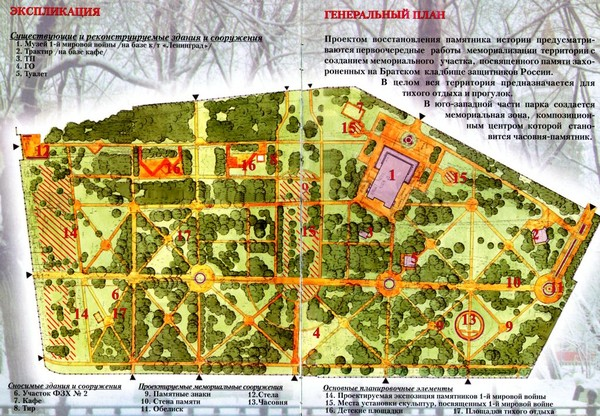 План-карта к Генплану