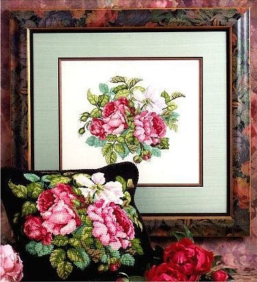 Розы. схемы для вышивки