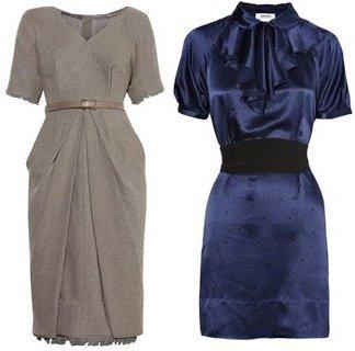 Офисные платья 2011 в новом модном сезоне весна-лето 2011 - это