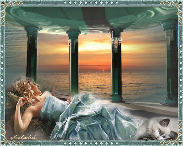 Фото Мечты на берегу моря