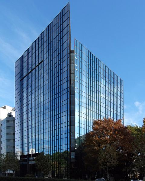 Sogetsu hall and office at akasaka tokyo japan design by kenzo tange