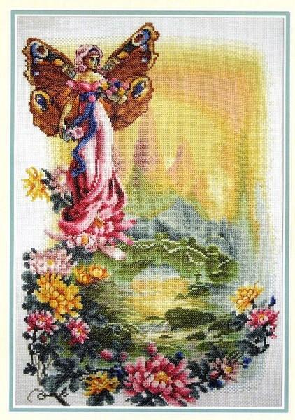 Цветочная фея. схемы для