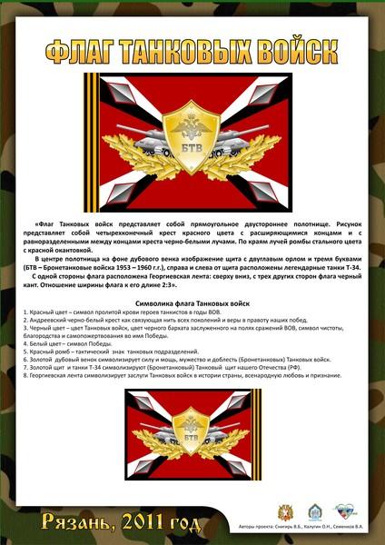 Флаг бронетанковых войск — мой мир@mail