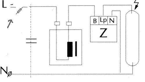 Схемы подключения ДНАТ с