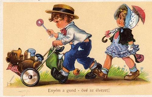 Венгерские открытки