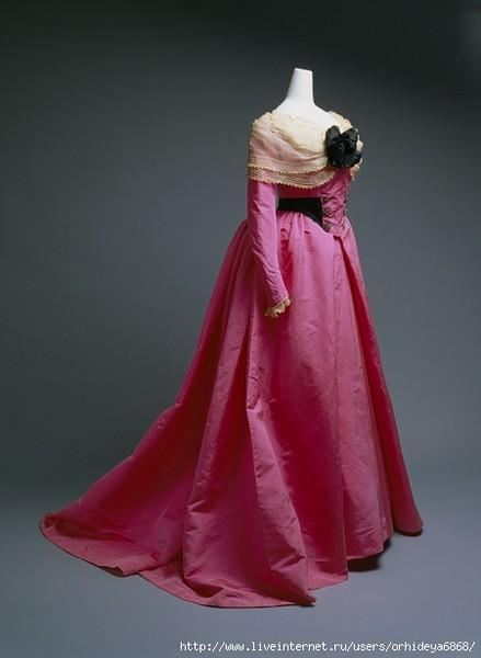 Платья конца 19 века