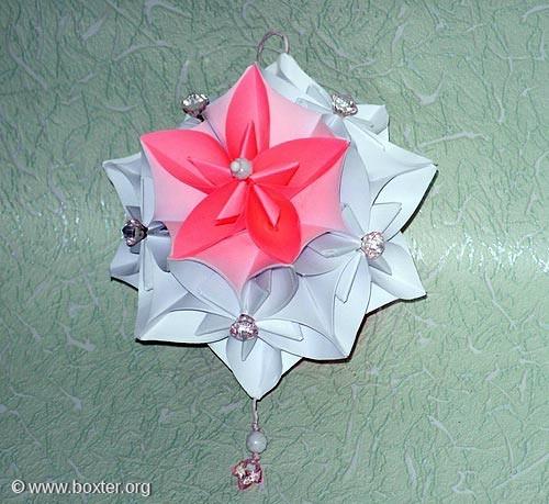 Бумажные шары для украшения зала