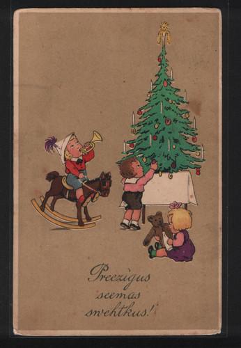 Прибалтийские новогодние открытки 37