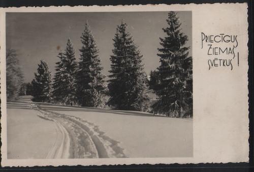 Прибалтийские новогодние открытки 88