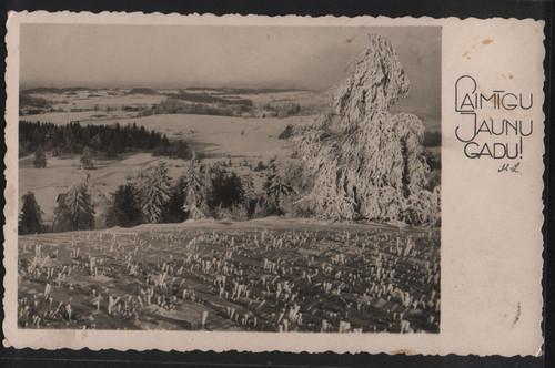 Прибалтийские новогодние открытки 79