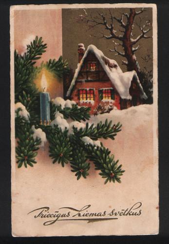 Прибалтийские новогодние открытки 24