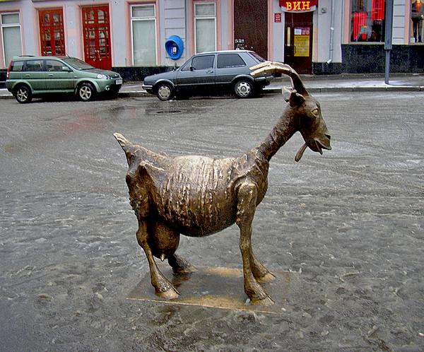 фото нижнего новгорода веселая коза