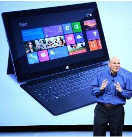 Micosoft Surface ожидается в магазинах со второй недели февраля.