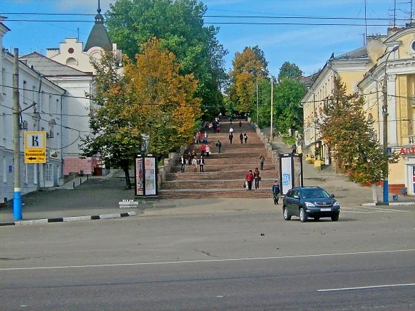 Лестница Бульвар Гагарина Брянск