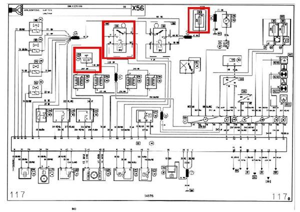 электросхема рено лагуна 2