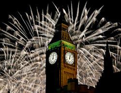 Грандиозные новогодние фейерверки по всей планете 2013г
