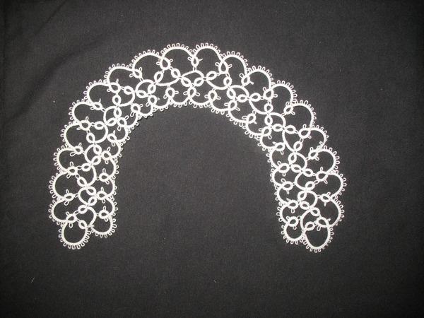Метки.  Плетение кружев челноками. фриволите.